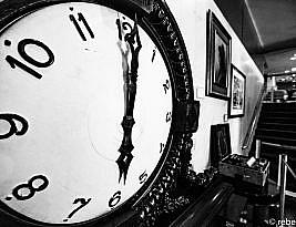 Quando meu tempo parou no tempo