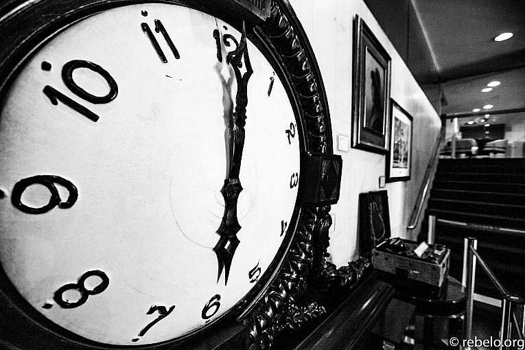 Quando meu tempo parou no tempo (Paulo Rebêlo)