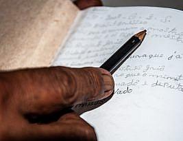 Parei de escrever com medo de me entender